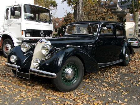 TALBOT Lago T15 Cadette 1938 Retrorencard 2