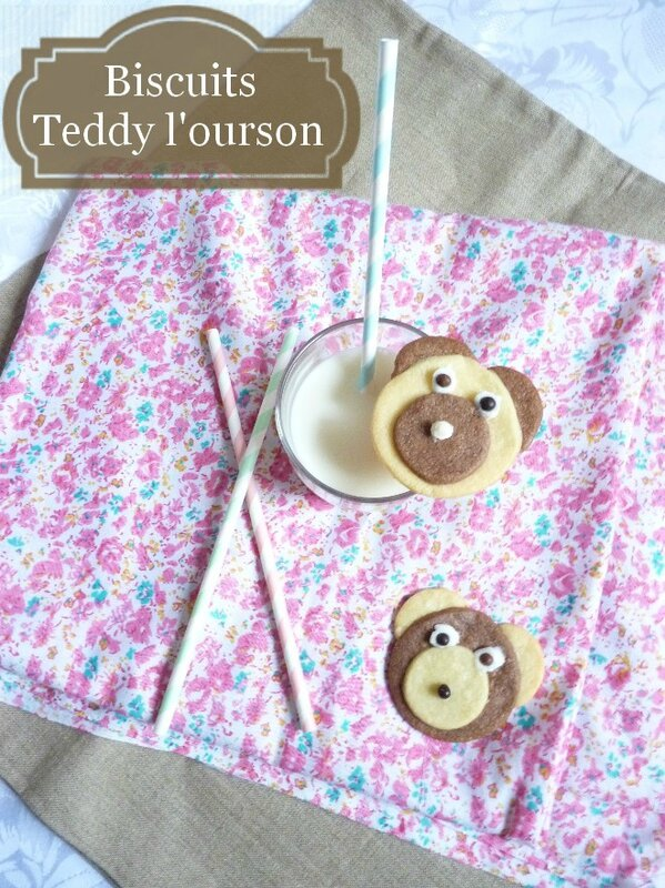 Biscuits Teddy l'ourson 1