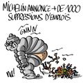 Michelin annonce plus de 1000 suppressions d'emplois