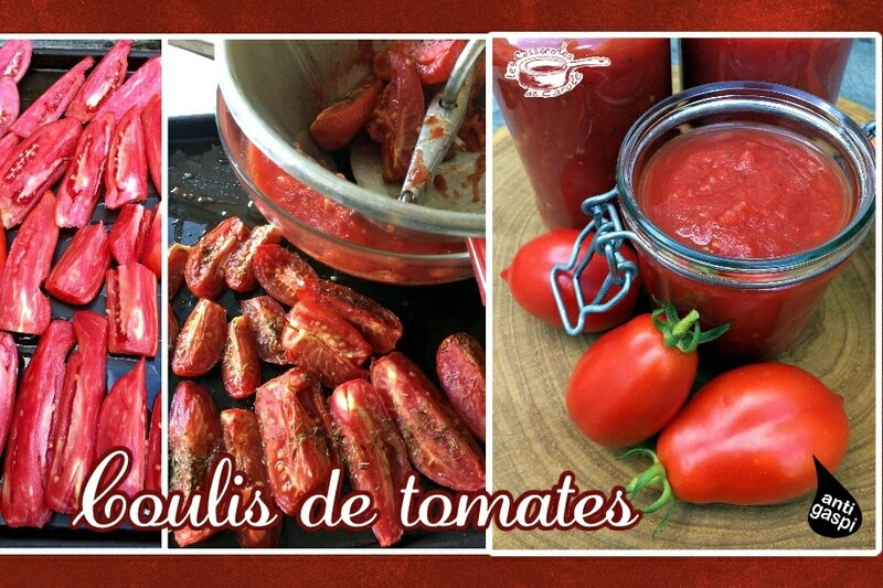 Coulis de tomates (au four) (SCRAP)