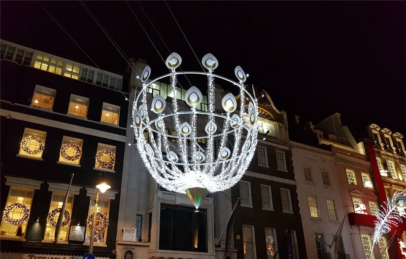 Joëlle Ortega-Valverde Christmas london light