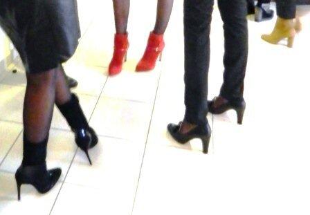 Des chaussures superbes !!