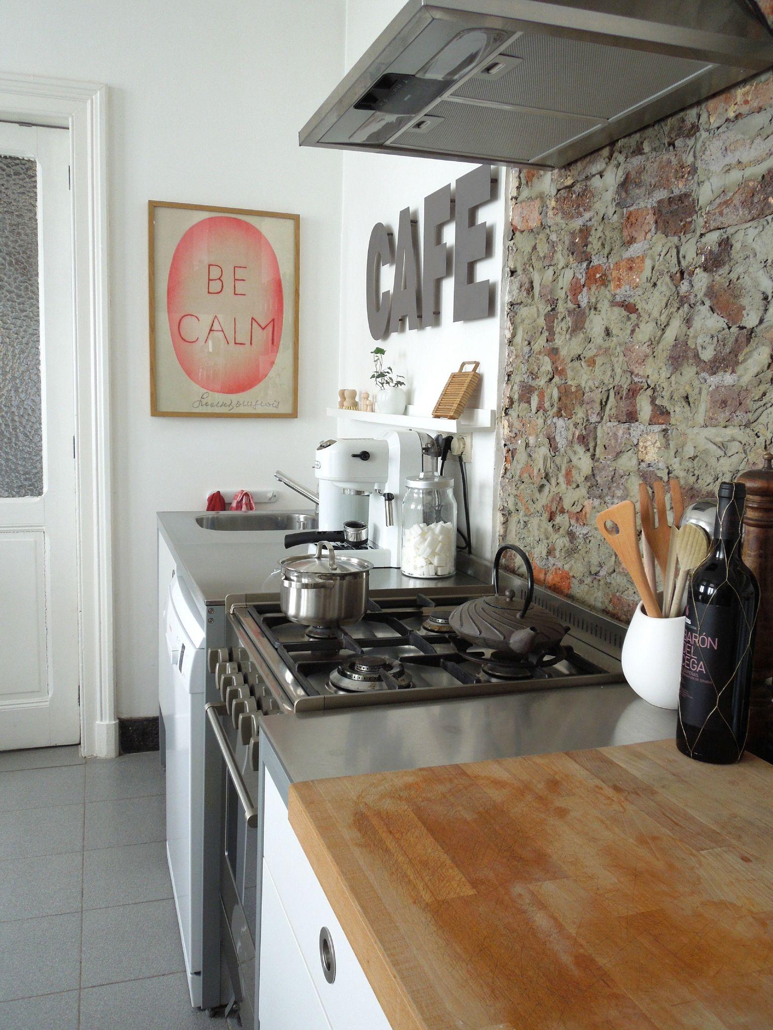 Cuisine Americaine Moderne : voilà notre mini cuisine, un seul mur déléments bas ,cuisine udden