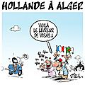 ps hollande humour algerie visa