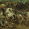 Peter paul rubens, henri iv at the battle of ivry, ca. 1630