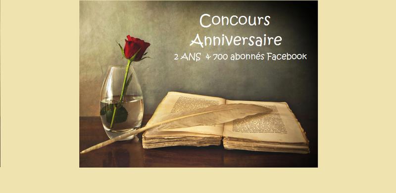 18 : Partenaire Editions Plume Blanche - Concours Anniversaire **2 ans** et **700 j'aime**
