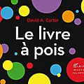 Le livre à pois : un pop up explosif en couleurs!!