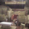 Nazareth, grotte dans la Basilique de l'Annonciation