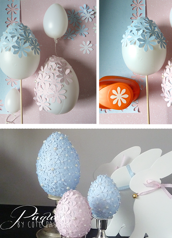 Easter Eggs DIY 1Côté Passion