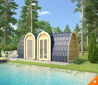 Camping-pods