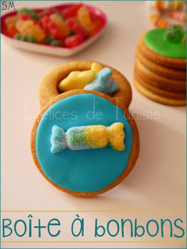 Boîte à bonbons en biscuit 3