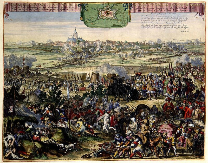 980px-Recapture_of_Naarden_by_William_III_in_1673_-Belegeringe_der_Stadt_Naerden_(Romeyn_de_Hooghe)