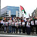 International political prisoners day: brussels