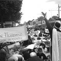 2005 Manif au Petit Chateau contre le protocole de cooperation