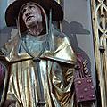 Rétable d'Issenheim , musée de Colmar : St Jérôme tenant un livre