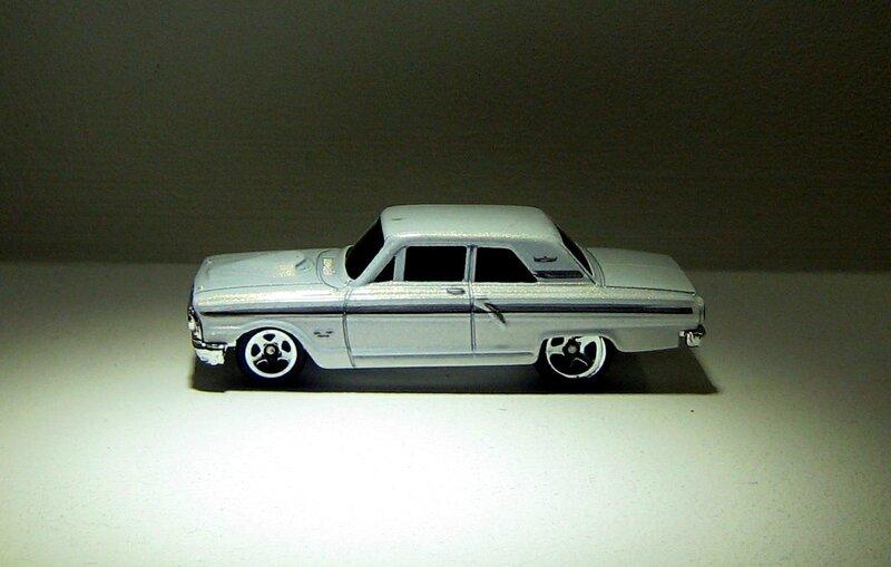 Ford thunderbolt (Hotwheels 2009)