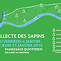 Collecte des sapins de Nol  Alfortville