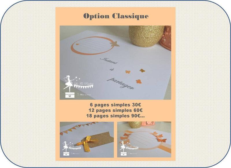 option classique + cadre