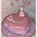 Gâteau Hello Kitty n°3