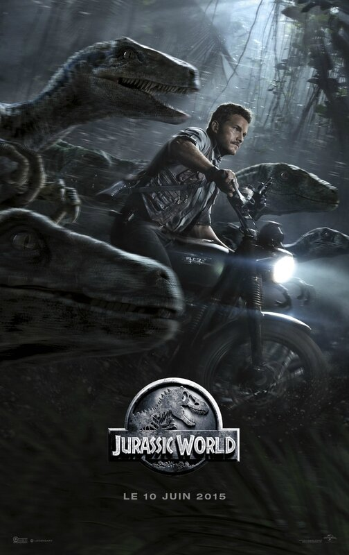 Jurassic World movie poster 03