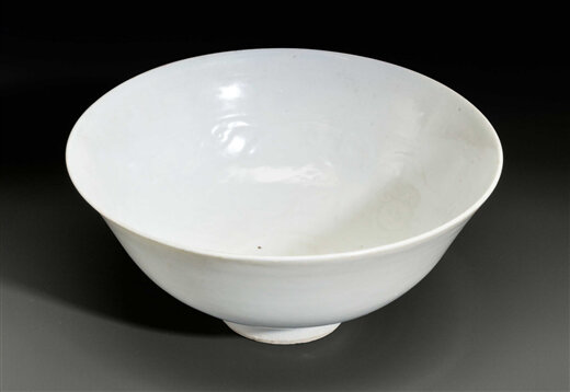 A shufu-type, molded bowl, China, Yuan dynasty (1279-1368)