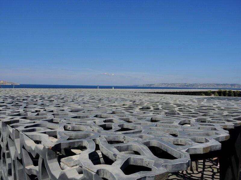 Marseille, le Mucem, vue sur mer 4 (13)
