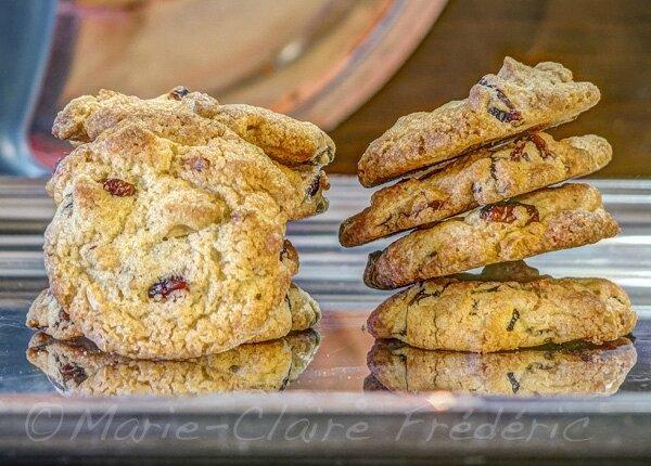Le mystère des cookies aux cacahuètes et canneberges