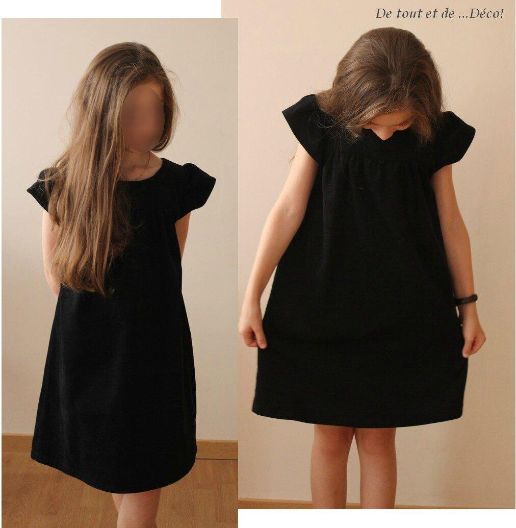 robe noire mod232le rosam233e de citronille de tout et de