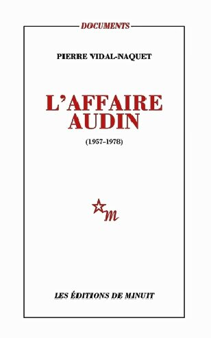 l'affaire Audin couv