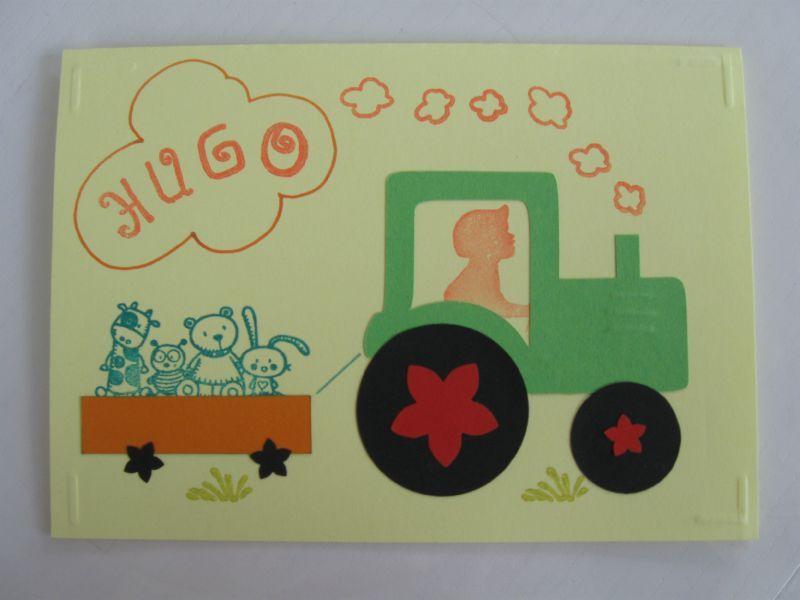 """Exceptionnel Le thème """"tracteur/ferme"""" - Rose de Biboun DU05"""
