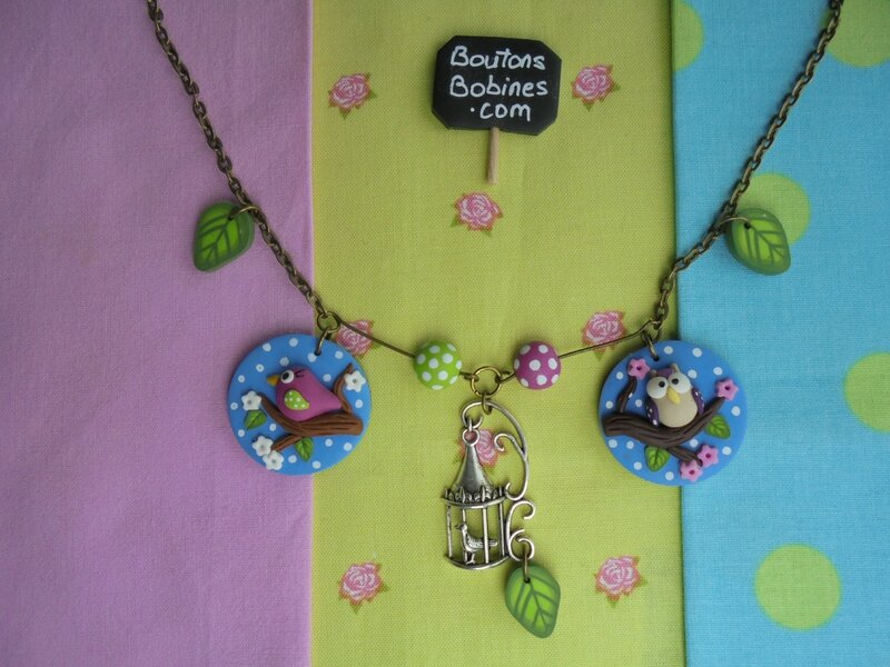 collier un air de printemps