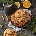 Cinnamon rolls #noël vegan