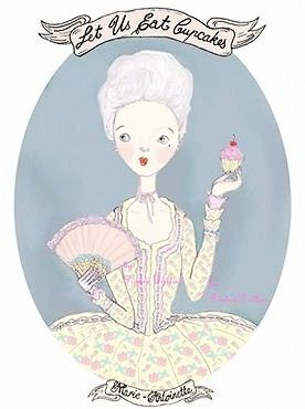 marie_antoinette_and_the_cupcake_printedpretties