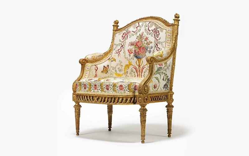 Marie Antoinette's armchair among highlights in Christie's Important French Furniture and Works of Art sale