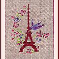 Échange ATC (Juin) Chez Cathy (Paris) Cathy pour Marie de Clessé 1