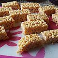Barre de céréales dites rtk