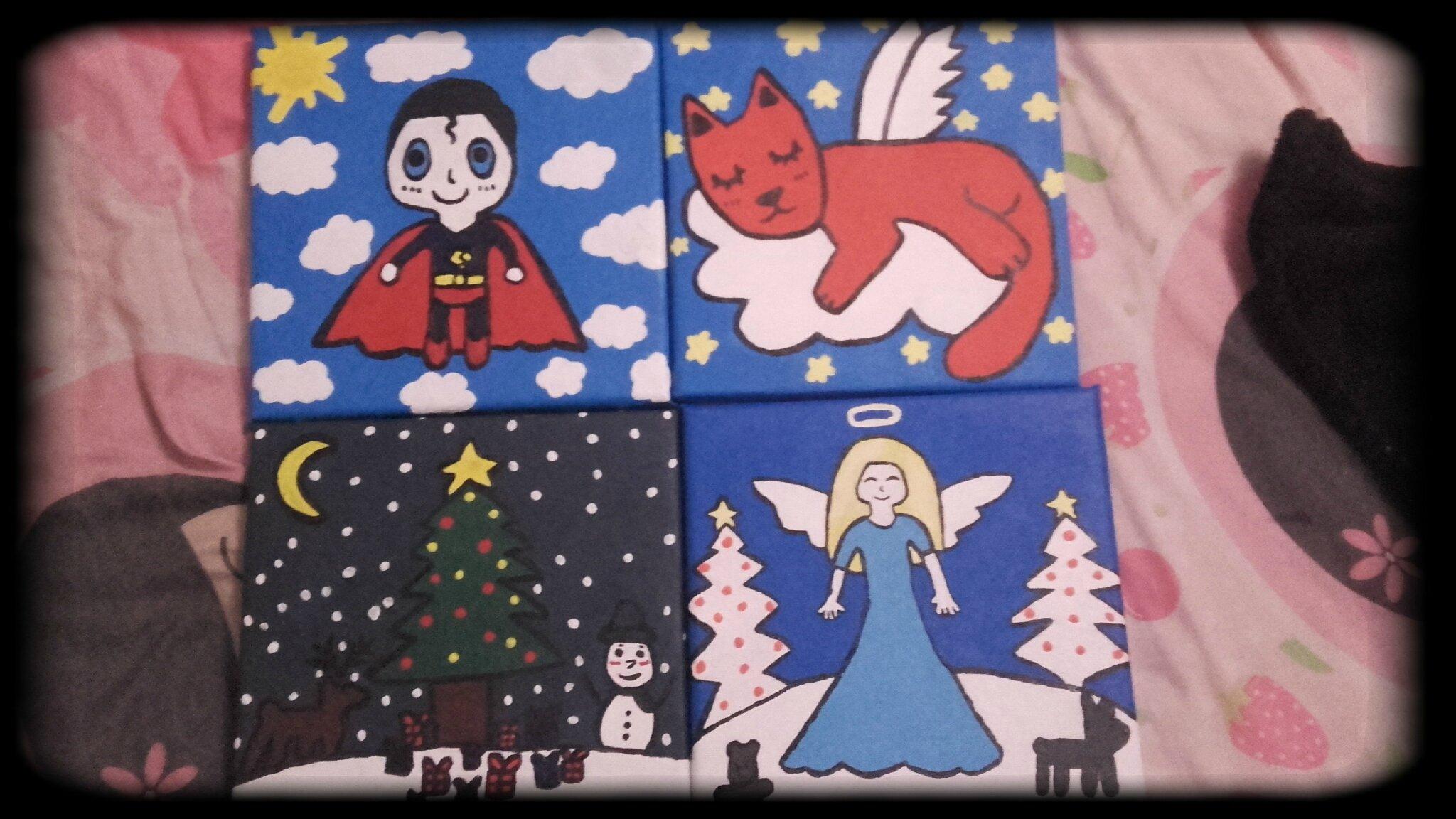 Cadeaux peintures