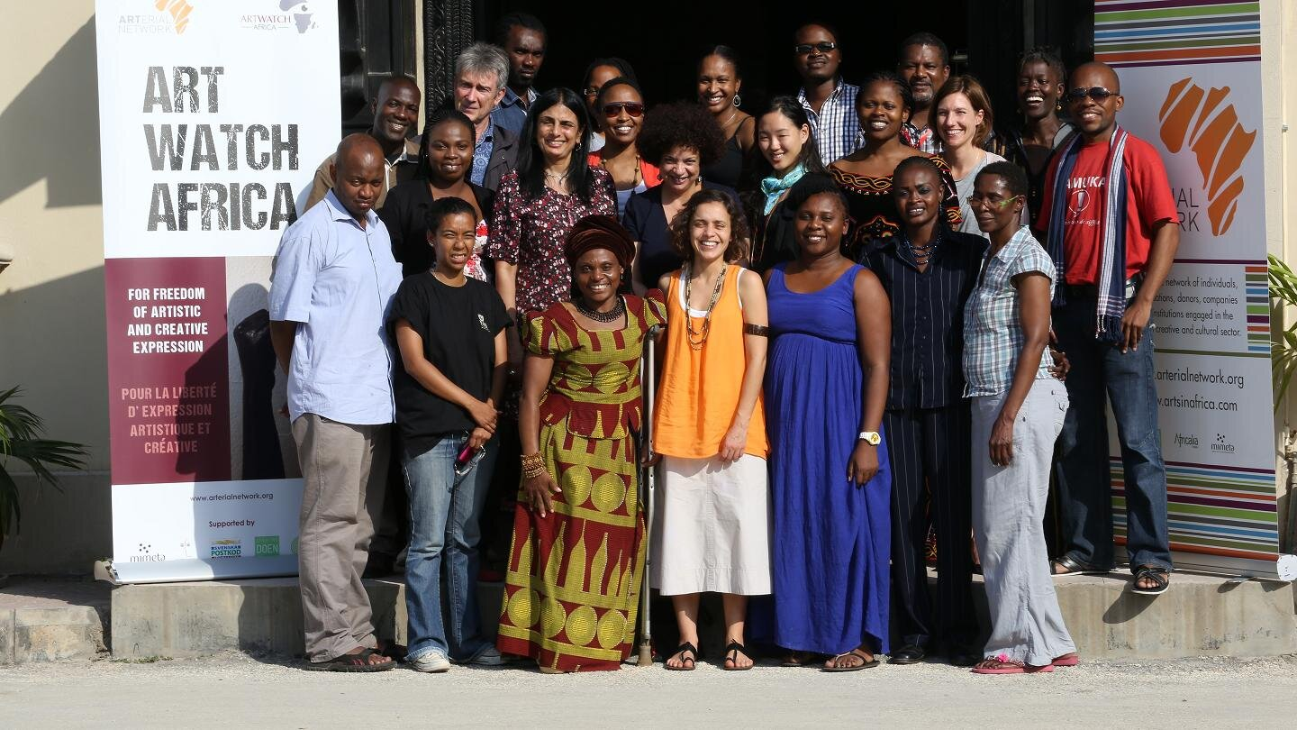 ARTWATCH AFRICA Trainers Workshop - Zanzibar June 2014