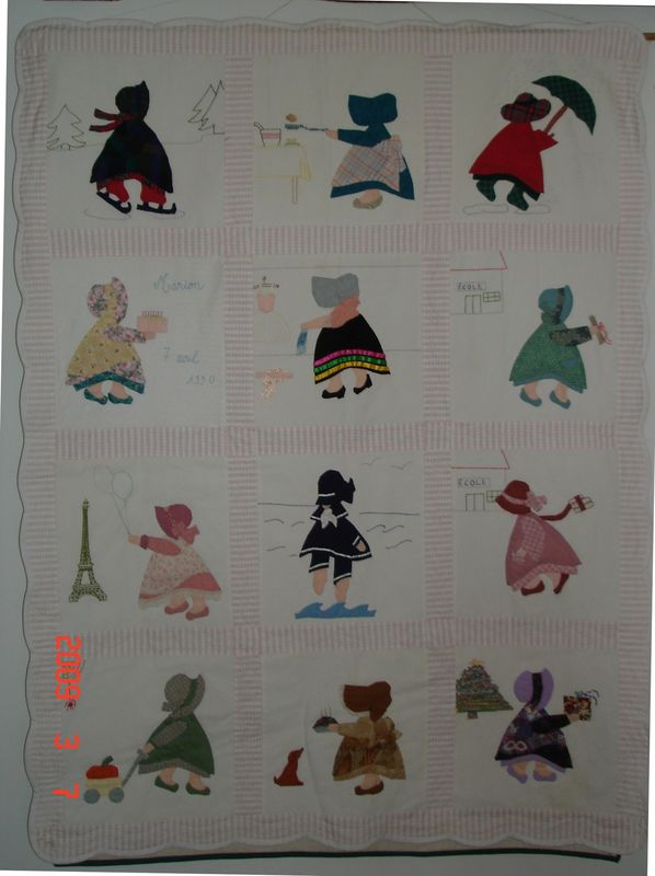 APPLIQUE SUNBONNET SUE