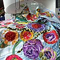 cratrice de patron de patchwork appliqu