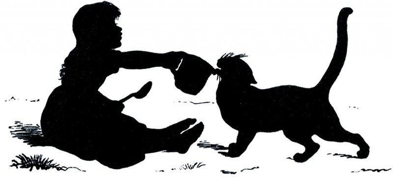 Antique-Silhouette-Girl-with-Cat-GraphicsFairy-1024x461