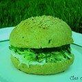 Green burger