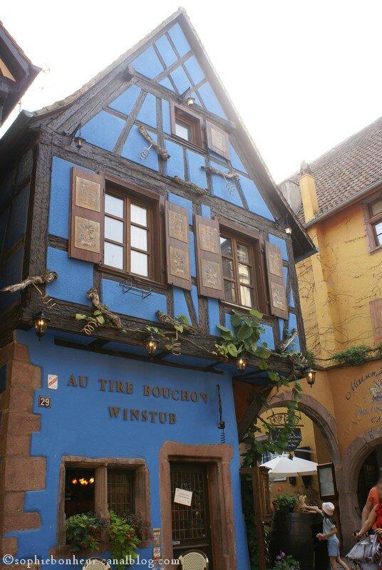 Riquewihr maison bleue