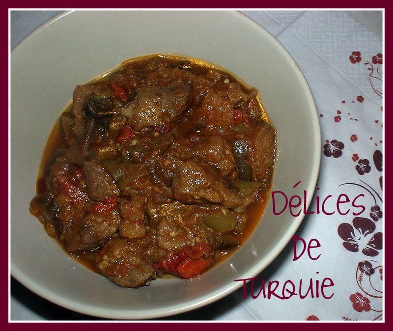 Boeuf aux l gumes d 39 t dana etli sebzeli t rl - Recette sauce pour viande rouge grillee ...