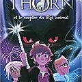 Simon thorn et le sceptre du roi animal, tome 1, d'aimée carter