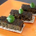Tartine croustillante n°4: pâté végétarien