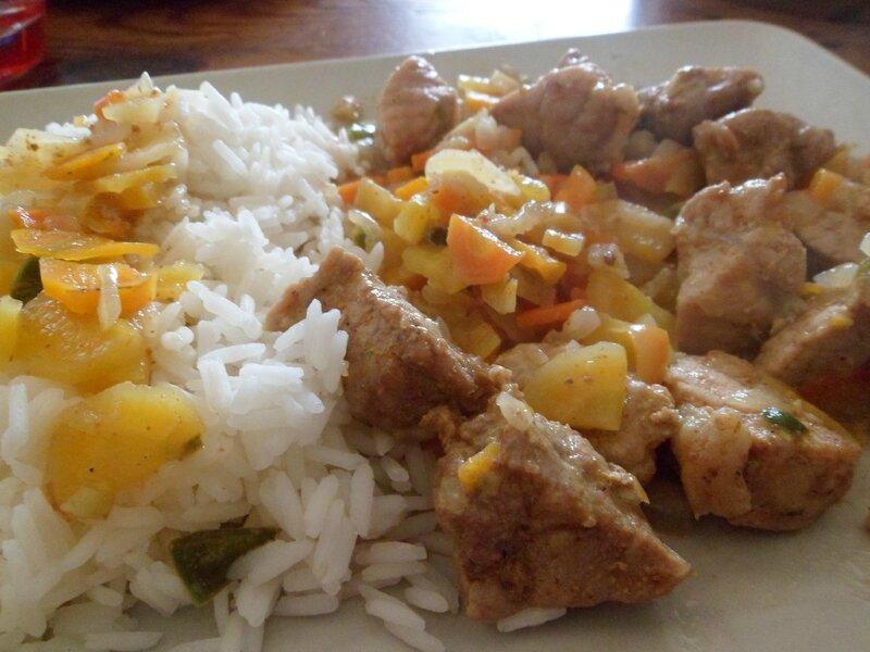 2016-11-19 sauté porc riz 3