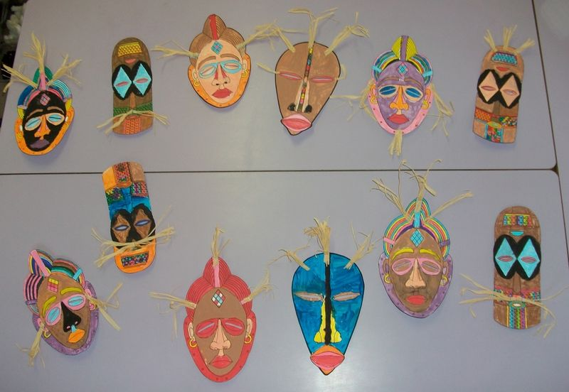 masque africain cycle 3