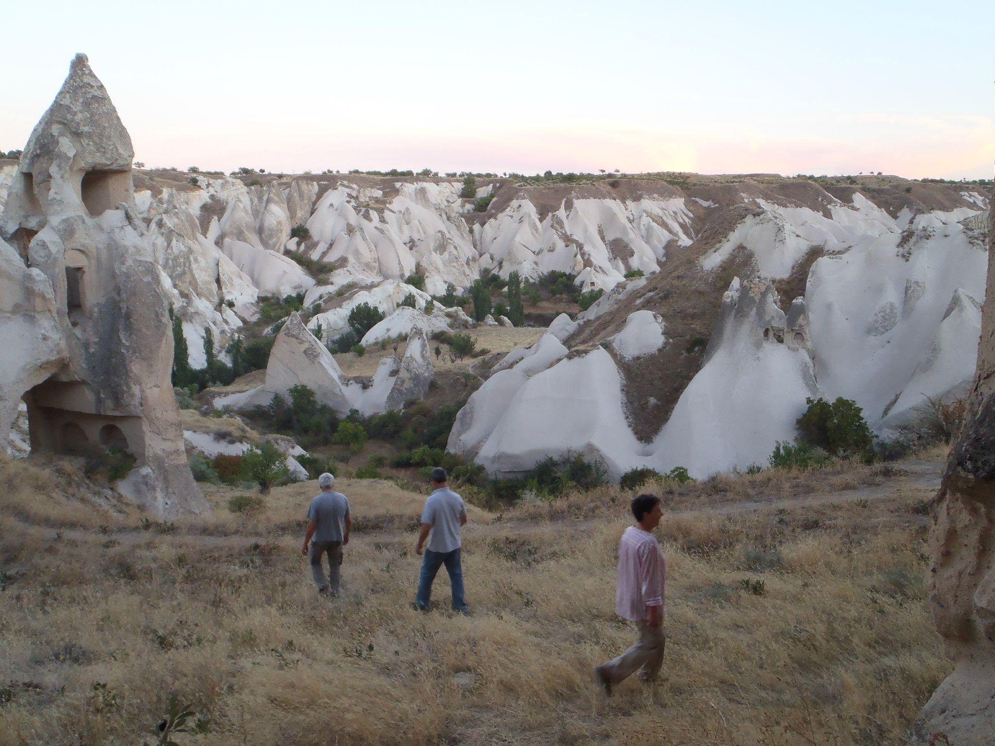 turquie cappadoce a travers la vallee