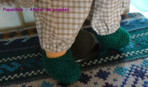 4 LM Chaussons verts pl